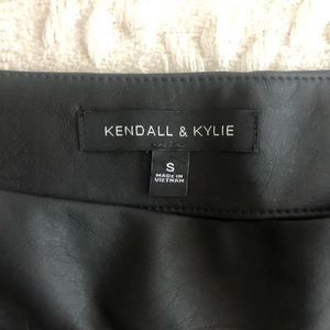 Kendall & Kylie Skirts - Kendall & Kylie | Faux Leather Skirt
